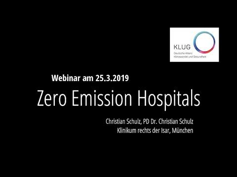 Zero Emission Hospitals - Krankenhäuser gegen die Klimakrise (Online-Seminar mit Christian Schulz)